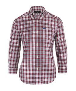 Dsquared2 | Блуза В Клетку С Укороченным Рукавом
