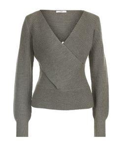 TOME | Пуловер Фактурной Вязки С V-Образным Вырезом