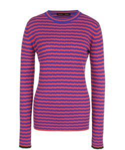 Proenza Schouler | Облегающий Пуловер Фактурной Вязки В Контрастную Полоску