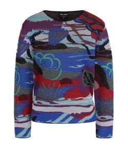 Giorgio Armani | Пуловер С Круглым Вырезом И Принтом
