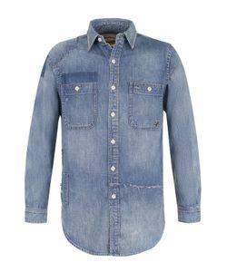 Polo Ralph Lauren | Джинсовая Блуза Свободного Кроя С Потертостями