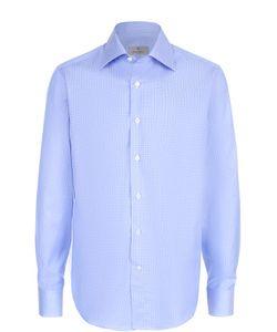 Canali | Хлопковая Рубашка С Воротником Кент
