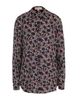 Michael Michael Kors | Шелковая Блуза С Цветочным Принтом