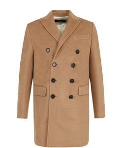 Dsquared2 | Шерстяное Двубортное Пальто
