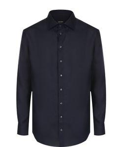 Giorgio Armani | Льняная Рубашка С Воротником Кент