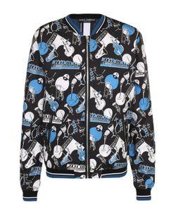 Dolce & Gabbana | Бомбер На Молнии С Принтом