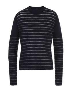 Maison Margiela | Пуловер С Круглым Вырезом И Металлизированной Отделкой