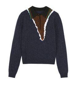 Maison Margiela | Пуловер Прямого Кроя С Отложным Воротником
