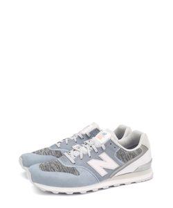 New Balance | Замшевые Кроссовки 996 С Текстильной Вставкой