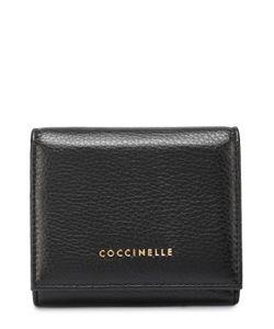 Coccinelle | Кожаное Портмоне На Кнопке