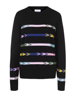 BARRIE | Кашемировый Пуловер Прямого Кроя С Контрастной Отделкой
