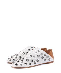 Acne | Кожаные Ботинки С Кристаллами И Мягким Задником