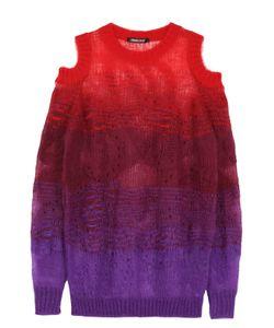 Roberto Cavalli   Пуловер Свободного Кроя С Открытыми Плечами