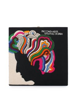 Olympia Le-Tan | Клатч Milton Glaser С Аппликацией