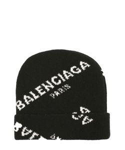 Balenciaga | Вязаная Шапка Из Шерсти С Надписями