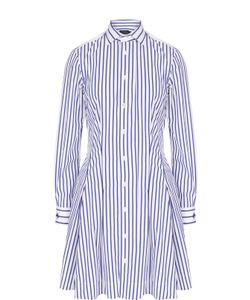 Polo Ralph Lauren | Приталенное Платье-Рубашка В Полоску