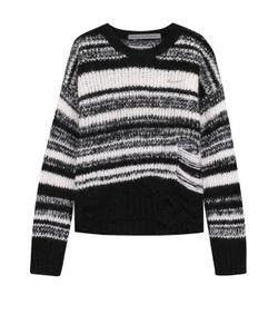 Raquel Allegra | Пуловер Фактурной Вязки С Круглым Вырезом