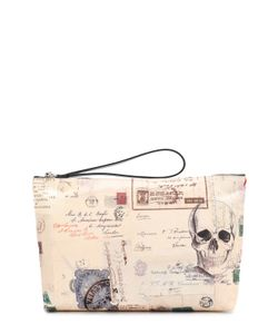 Alexander McQueen   Текстильная Папка Для Документов На Молнии