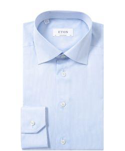 Eton | Хлопковая Сорочка С Воротником Кент