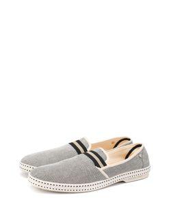 Rivieras Leisure Shoes | Текстильные Эспадрильи С Контрастной Отделкой