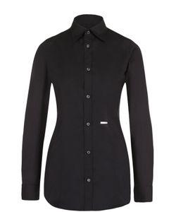 Dsquared2   Приталенная Хлопковая Блуза
