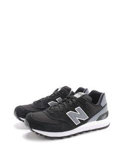New Balance | Замшевые Кроссовки 574 С Текстильными Вставками