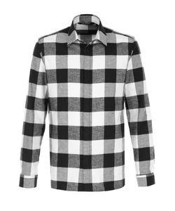 Neil Barrett | Хлопковая Рубашка В Клетку