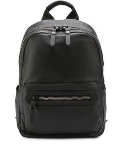 Lanvin | Кожаный Рюкзак С Внешним Карманом На Молнии