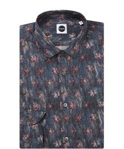 Bagutta | Хлопковая Рубашка С Принтом