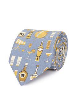 Dolce & Gabbana | Шелковый Галстук С Принтом