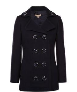 Michael Kors | Укороченное Двубортное Пальто С Декорированными Пуговицами