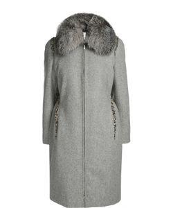 Moncler | Пальто С Воротником