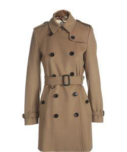 Burberry | Пальто С Поясом