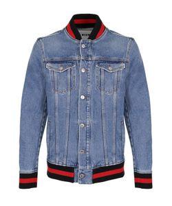 MSGM | Джинсовая Куртка С Контрастной Отделкой
