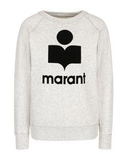 Isabel Marant Étoile | Свитшот Прямого Кроя С Контрастным Логотипом Бренда
