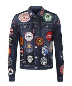 Dsquared2 | Джинсовая Куртка С Контрастными Нашивками
