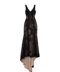 Basix Black Label | Приталенное Кружевное Платье В Пол С Подолом