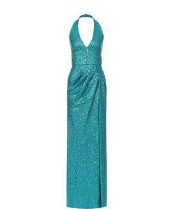 Elie Saab | Платье-Макси С Открытой Спиной И Пайетками
