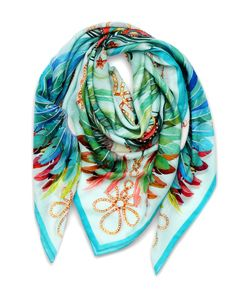 Lalique | Платок Шелковый Feather
