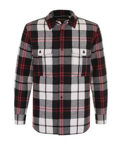 Burberry | Рубашка В Клетку Из Смеси Шерсти И Хлопка