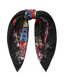 Dolce & Gabbana | Шелковый Платок С Принтом