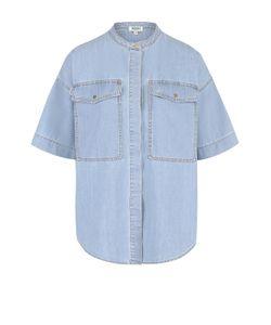 Kenzo   Джинсовая Блуза С Накладными Карманами