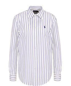 Polo Ralph Lauren | Хлопковая Блуза В Полоску С Логотипом Бренда