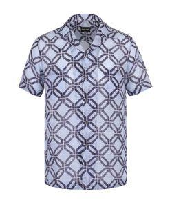Giorgio Armani | Рубашка С Короткими Рукавами И Отложным Воротником
