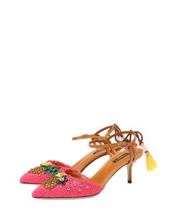 Dolce & Gabbana | Плетеные Туфли Bellucci С Декором