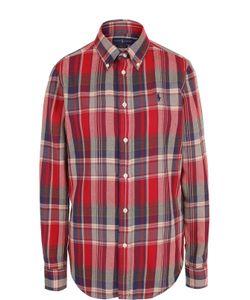 Polo Ralph Lauren | Хлопковая Блуза Прямого Кроя В Клетку
