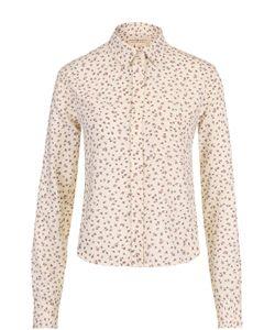 Denim & Supply Ralph Lauren   Укороченная Блуза Прямого Кроя В Клетку