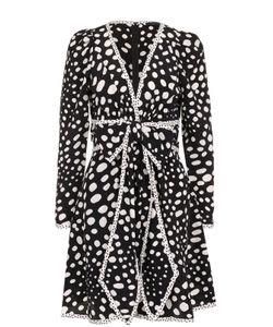 Marc Jacobs | Шелковое Мини-Платье С Принтом