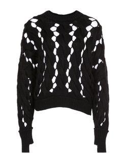 DKNY | Пуловер Фактурной Вязки С Круглым Вырезом