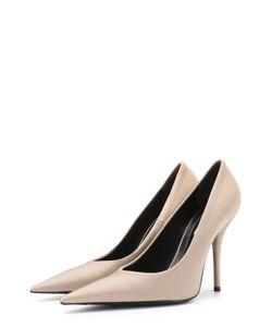 Balenciaga   Текстильные Туфли С Зауженным Мысом